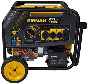 Firman H0805 Dual Fuel Portable RV ready Generator