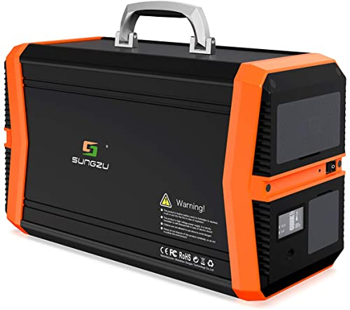 SUNGZU Portable Solar Generator with 1010Wh Power Station