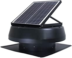 iLiving Smart Exhaust Solar Roof Attic Fan