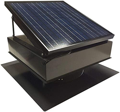 Remington Solar 25W Solar Attic Fan with Thermostat