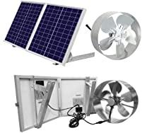 ECO-WORTHY Solar Powered Attic Ventilator Roof Vent Fan
