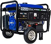 DuroMax XP5500EH 7.5 HP Portable Dual Fuel Generator