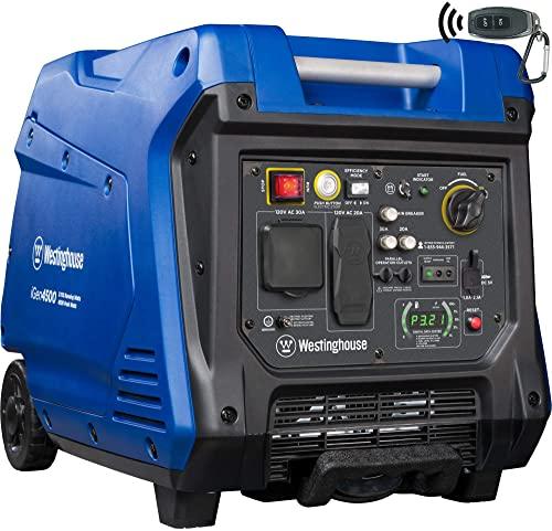 Westinghouse iGen4500 Carb Compliant Super Quiet Portable Inverter Generator
