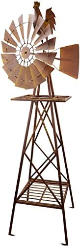 Red Carpet Studios Rustic Garden Windmill