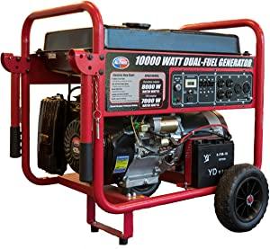All Power America APGG1000GL Dual Fuel Portable Generator