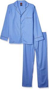 Hanes Woven Plain Weave Sleeping Suit for Men