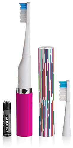 Violife Slim Electric Toothbrush for Home and Travel