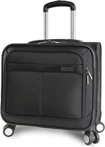 Perry Ellis Spinner Wheels Mobile Office Laptop Bag