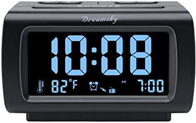 DreamSky Alarm Clock with FM Radio