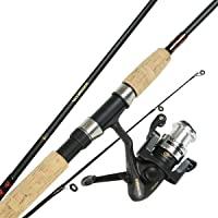 Okuma VS-605-20 Voyager Fishing Spinning Travel Kit