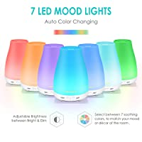 URPOWER Essential Oil Diffuser with Adjustable Mist Option