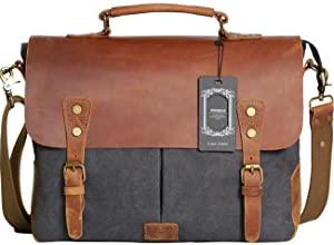 Wowbox Messenger Satchel Travel Briefcase