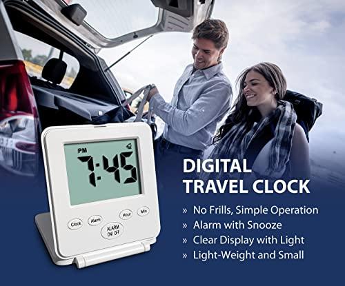 Travelway Digital Alarm Clock