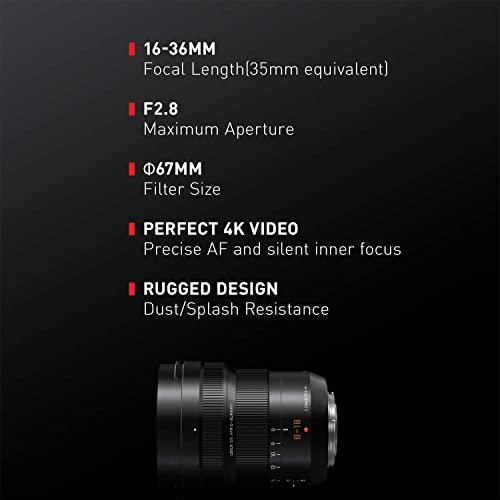 Panasonic LUMIX Professional Mirrorless Micro Four Thirds Camera Lens