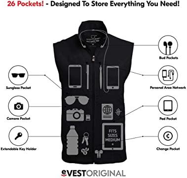 SCOTTeVEST RFID Blocking Travel Vest for Men
