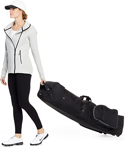 Amazon Basic Golf Club Travel Bag with Wheels