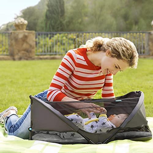 Munchkin Brica Fold N' Go Travel Crib